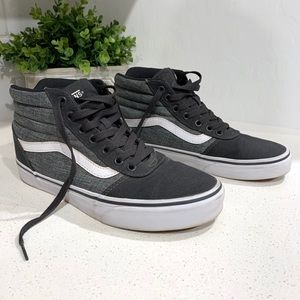 High top women's vans size 9